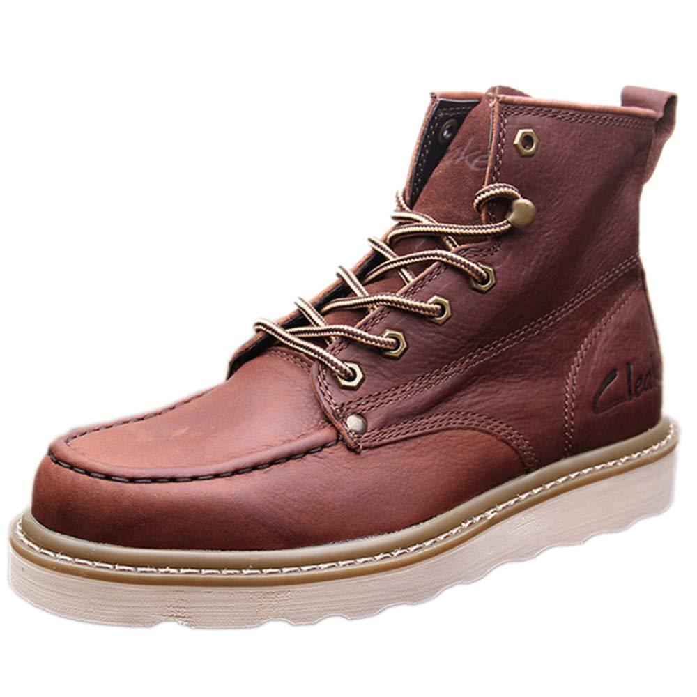 Herren Martin Stiefel Casual Werkzeugschuhe Lederstiefel Outdoor Wanderschuhe Klassische Stiefel Desert Stiefel Ankle Stiefel