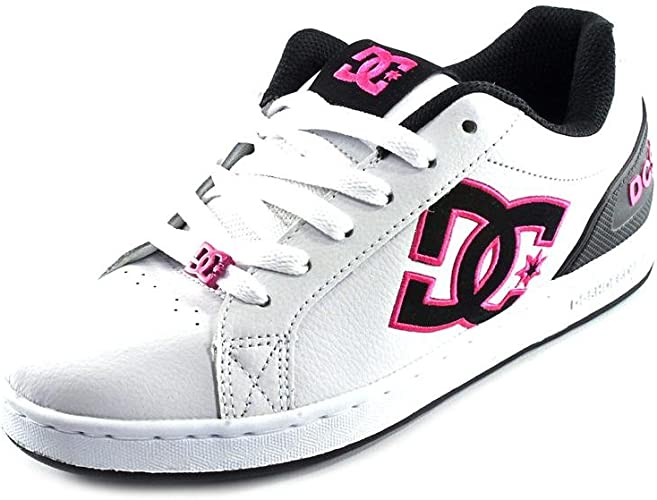 DC Clemente Womens White Leather Skate