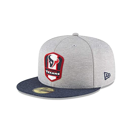 Amazon.com  New Era Houston Texans NFL Sideline 18 Road On Field Cap  59fifty Fitted OTC  Clothing 62952ac5912a