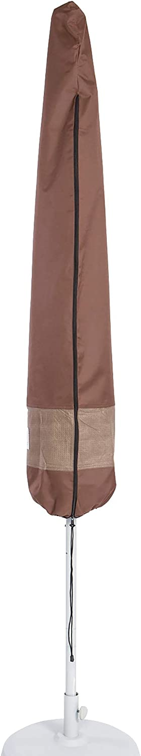 """Duck Covers Ultimate 11 ft. Patio Umbrella Cover with Pole, 88"""""""