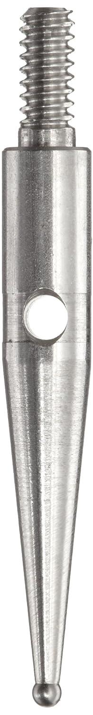 Hexagon Metrology 18mm Length Brown /& Sharpe TESA 01866014 Stainless Steel Contact Point with Carbide Ball Tip 0.8mm Stem Dia M1.6 Thread