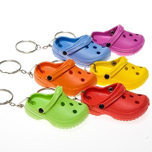 Amazon.com  Rubber Clog Keychains  Clothing c3e3ead32f99
