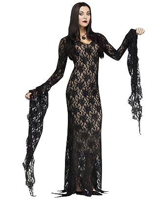 Amazon.com: Fun World Women's Miss Darkness Costume: Clothing