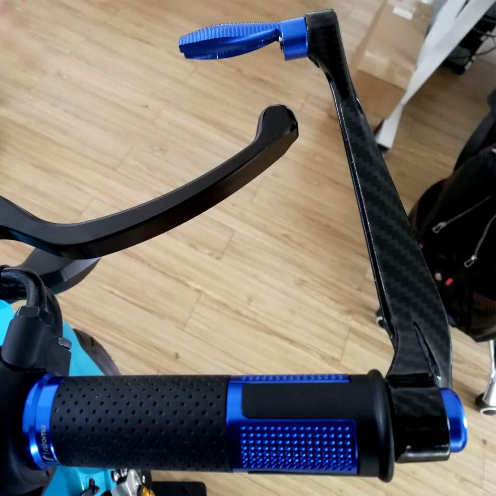 Frizione Freno Acqua Stampa di Trasferimento 7//8Alluminio di Ricambio Paramani Proteggi Manubrio per Moto da Corsa Dirt Bike Festnight Lever Guard