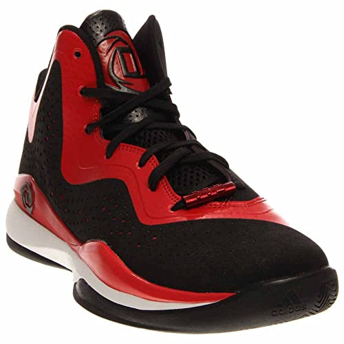 4497f48eb387 Adidas D Rose 773 III Mens White Black White Basketball Sneakers Black- Scarlet 13 D(M) US  Buy Online at Low Prices in India - Amazon.in