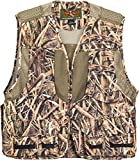 TrailCrest Kids Mossy Oak Deluxe Front Loader Hunting Vest, Medium, Shadow Grass