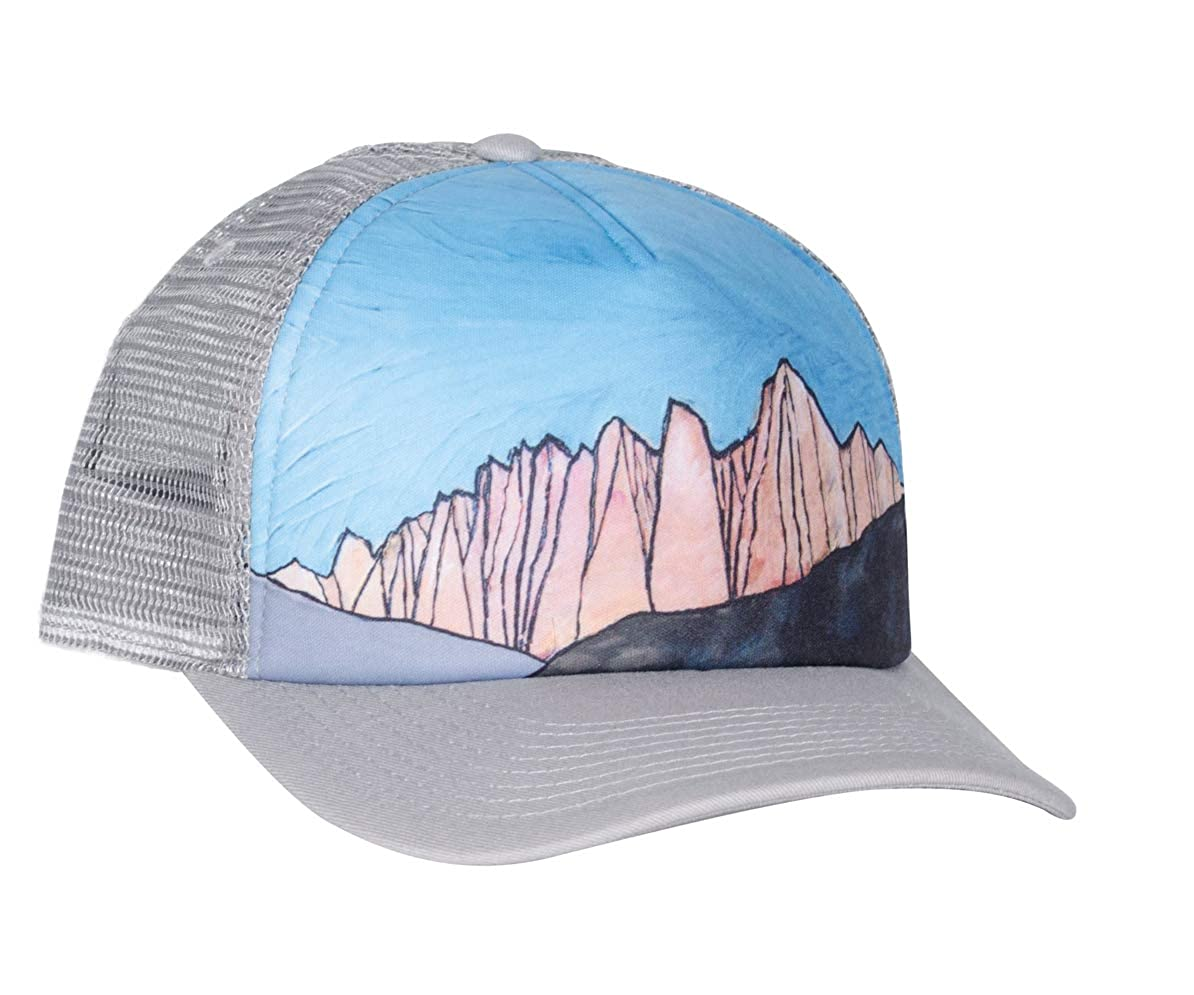 Bristlecone Designs - Mt. Whitney - Trucker Hat (Grey) at Amazon Men s  Clothing store  1734e8408c8