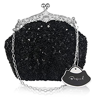 Bagood Women's Vintage Evening Bags Clutches Purses Handbag Shoulder Bag