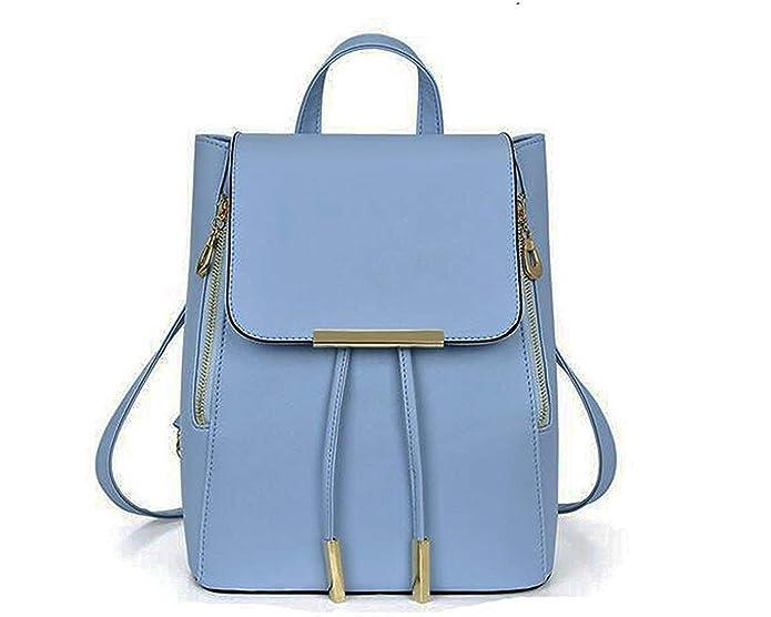 Fashion Women Backpack Travel Shoulder Bag Girls Ladies PU Leather Rucksack