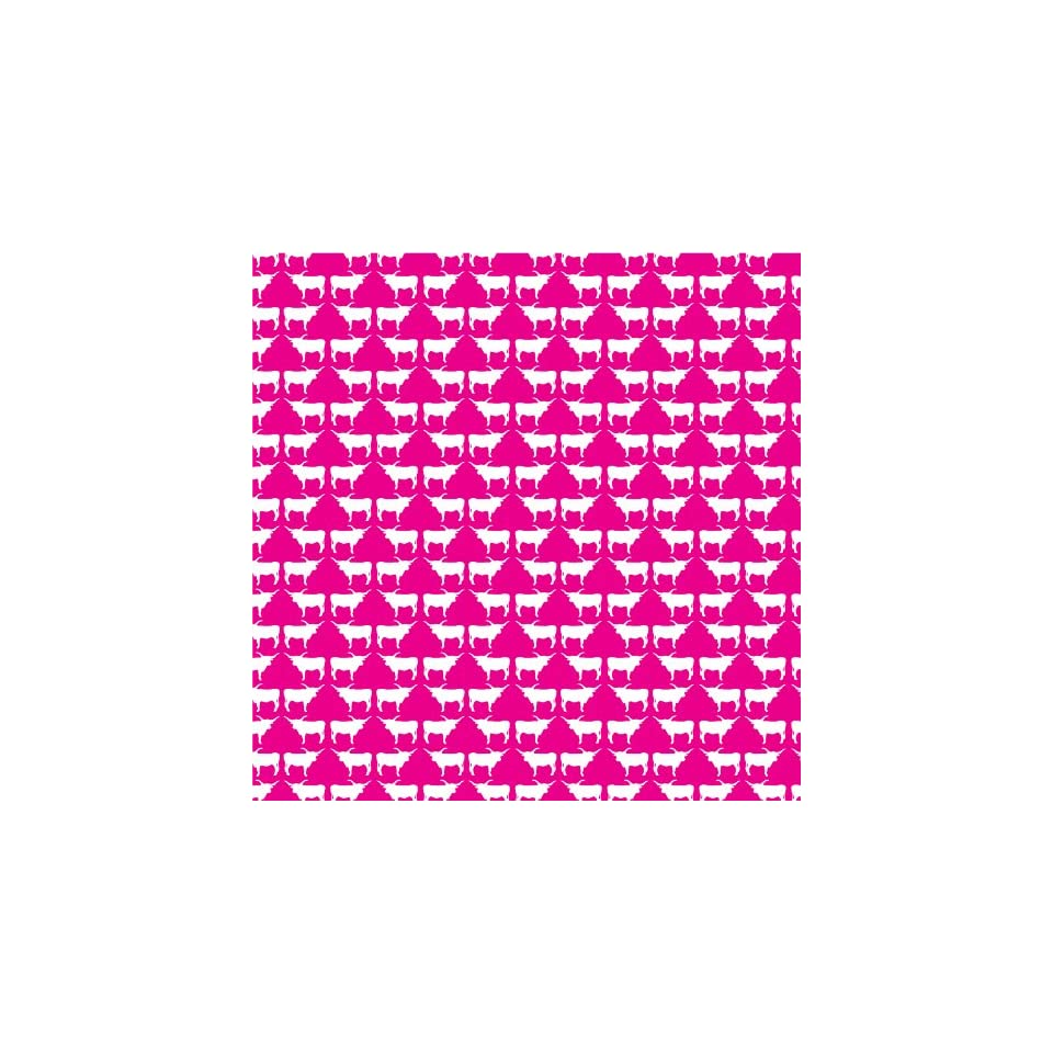 LONGHORN PATTERN PINK & WHITE Vinyl Decal Sheets 12x12 x3 Great for Cricut or Silhouette Crafting