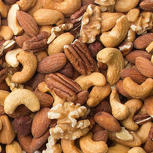 Mixed Nuts Roasted Unsalted (25 Pound Case) - Oh! Nuts
