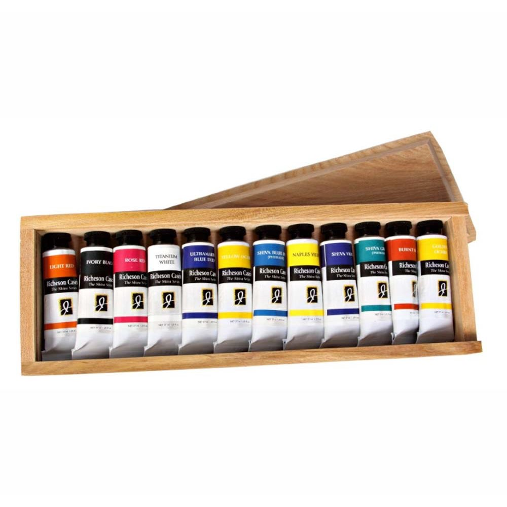 Jack Richeson 37-Ml Artist Casein Colors, Set of 12 by Jack Richeson