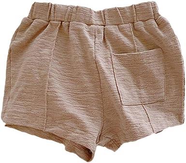 Hongyuangl Niños Niña Pantalones Cortos Deportivos Pantalones ...