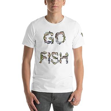 4083bcab648a Joy Creating Go Fish Short-Sleeve Unisex T-Shirt, Cotton, Fishing ...