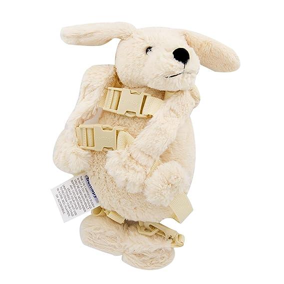 berhapy 2 en 1 luz blanco perro infantil cartoon animal mochila ...