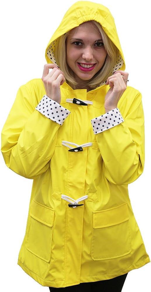 Apparel Ranking TOP3 No. 5 Women's Max 64% OFF Coat Hooded Toggle Rain
