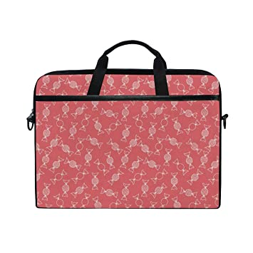 8659d59b67f0 Amazon.com: Merry Christmas Cute Candy Red Laptop Bag 15-15.4 Inch ...