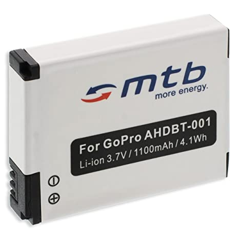 LADEGERÄT für GOPRO Hero AHDBT-302 ABPAK-001 2x KAMERA AKKU BATTERIE 1180mAh
