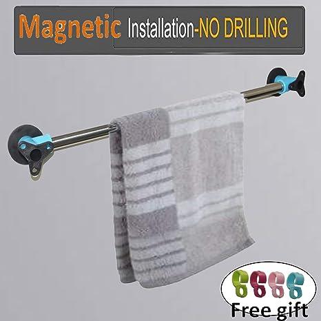 Amazon.com: AUXPhome - Toallero magnético de acero ...
