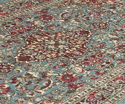 Ottomanson Ottohome Collection Persian Heriz Oriental Design Area Rug with Non-Skid (Non-Slip) Rubber Backing