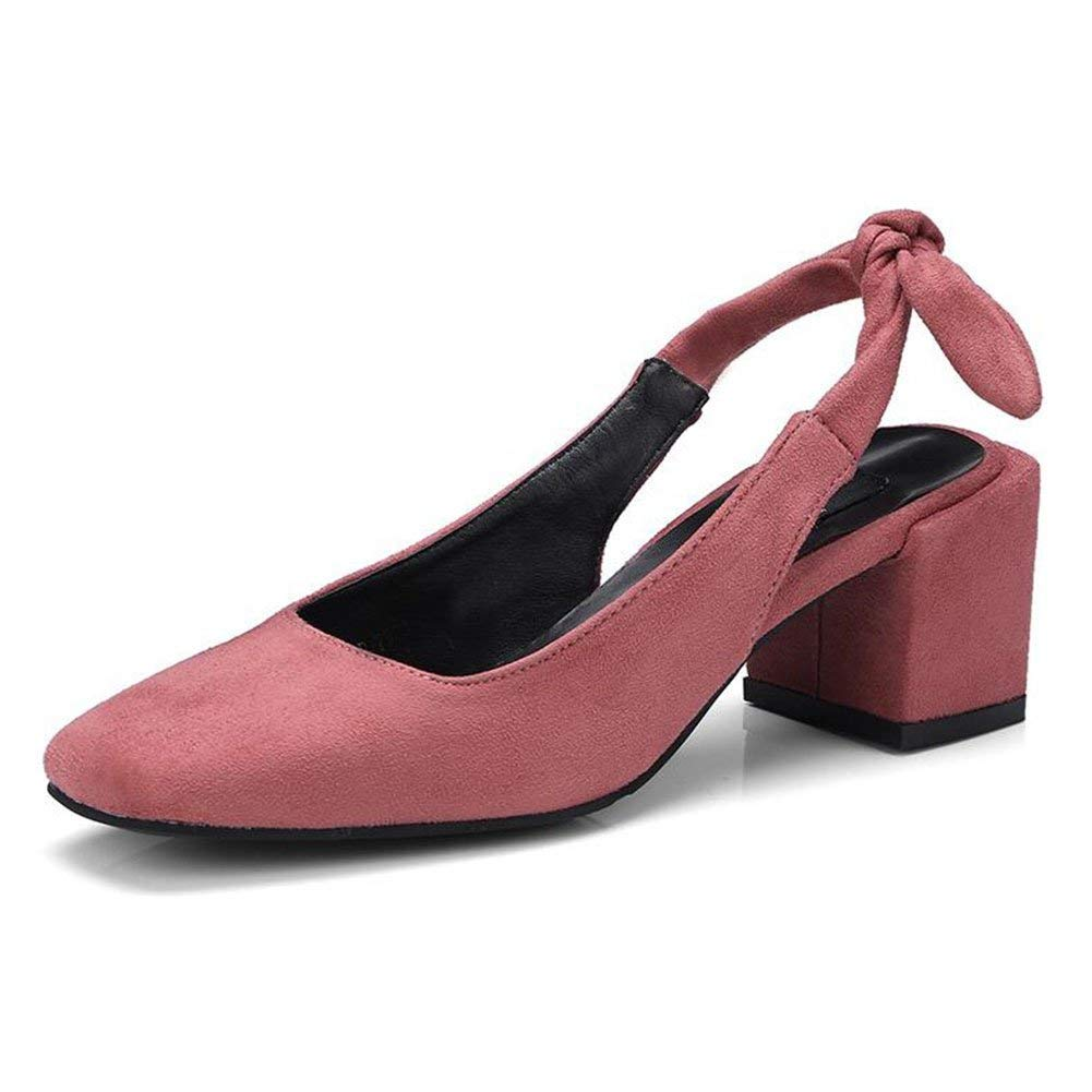 Red Comfortable and beautiful ladies sandals women's sandals Sandals TPR Sole Summer Female Fashion Baotou High Heel Single shoes