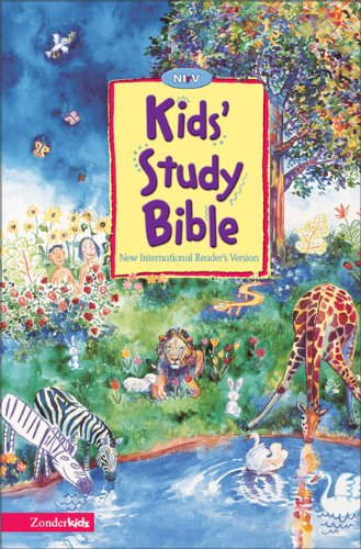 NIrV, Kids Study Bible, Hardcover