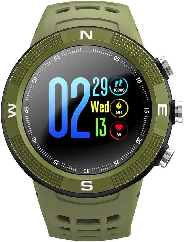 JINRU Reloj Inteligente 1,3 Pulgadas GPS posicionamiento Global Monitor de frecuencia cardíaca Deportes podómetro monitoreo del sueño