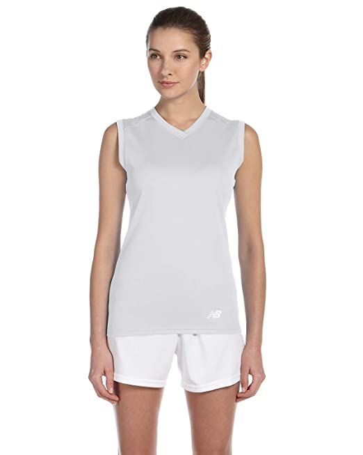 New Balance NB7117L NDurance Athletic Workout - Camiseta con Cuello en V  para Mujer  Amazon.es  Zapatos y complementos 0a424948187d0