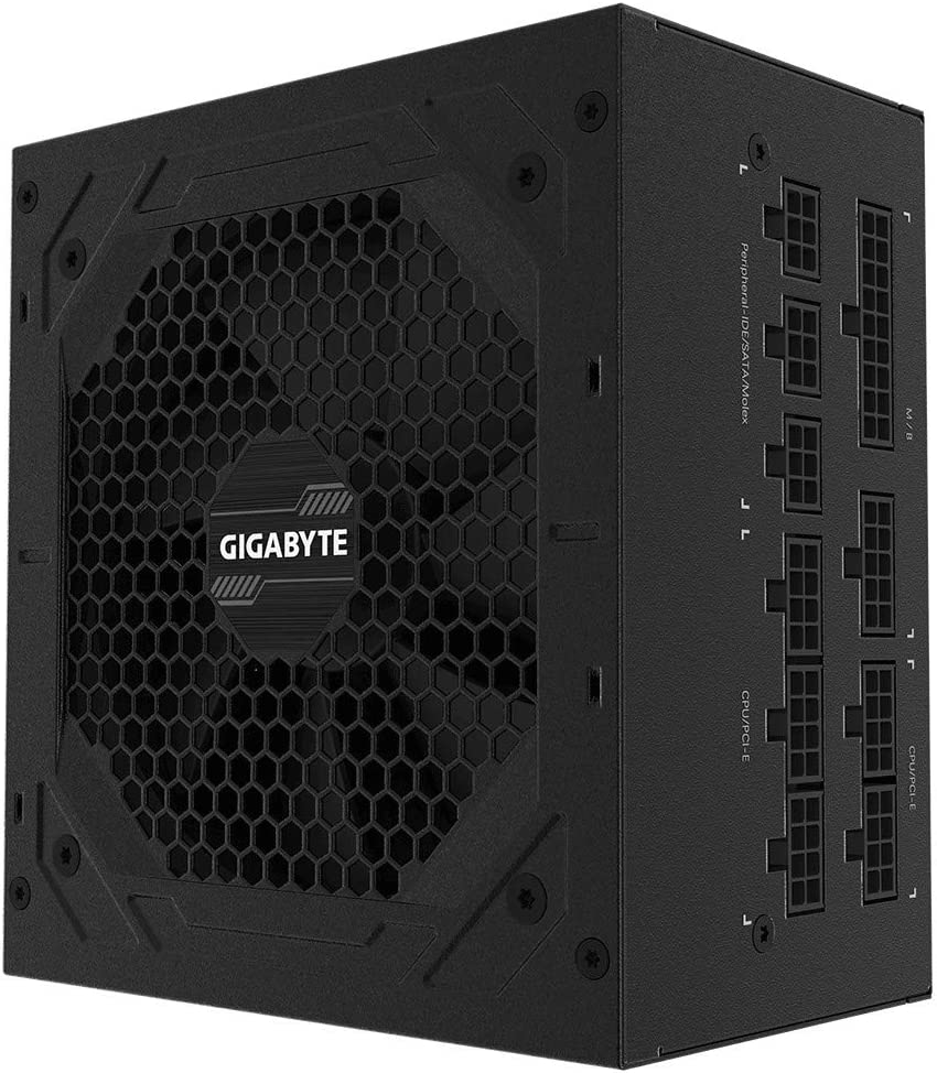 Fuente ALIMENTACION GIGABYTE GP-P850GM,850W,Active PFC,80+ Gold Certified,Fan Type: 120MM,ATX (GP-P850GM)