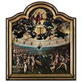 Canvas Prints Of Oil Painting 'Middle Part Of Last Judgement And The Seven Acts Of Mercy, 1524 By Bernard Van Orley' 12 x 13 inch / 30 x 33 cm , Polyster Canvas, Bath Room, Gym And Home Off decoration
