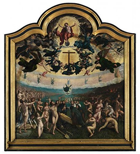 [Oil Painting 'Middle Part Of Last Judgement And The Seven Acts Of Mercy, 1524 By Bernard Van Orley' Printing On High Quality Polyster Canvas , 10x11 Inch / 25x28 Cm ,the Best Garage Artwork And Home Decor And Gifts Is This Amazing Art Decorative Canvas Prints] (Cat Costume Gone Wrong)