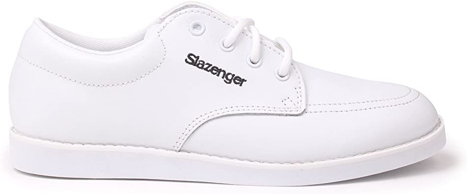 Slazenger Womens Bowls Shoes Lace Up