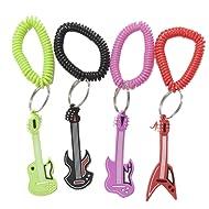 Fun Express Rock Star Rubber Key Chains (1 Dozen)