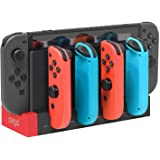 FYOUNG Charger Compatible with Nintendo Switch Controller, Charging Dock Station Base Compatible with Joycons with Indicator