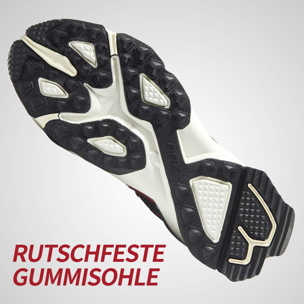 Rax Atmungsaktiv Herren Trekking /& Wanderschuhe Rutschfest Trainer