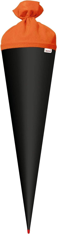 h ROTH Bastelschult/üte 70cm Mint gr/ün rund -Spitze mit Filz-Verschluss extra stabil durch Rot