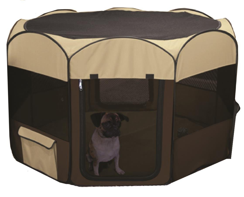 Amazon.com : Ware Manufacturing Large Deluxe Pop Up Dog Playpen : Pet  Kennels : Pet Supplies