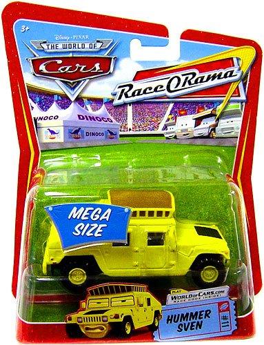 Race O-rama Series (Disney/Pixar Cars Race O Rama Series Mega Size Sven (Hummer) 1:55 Scale)