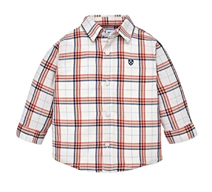 c36fa64a8f3c Amazon.com  Mayoral Baby Boys Long and Short Sleeve Button-Down   Dress  Shirts  Clothing