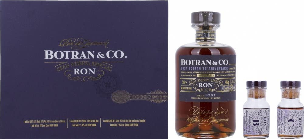 Botran & Co Gran Reserva Especial Ron 75th Anniversary