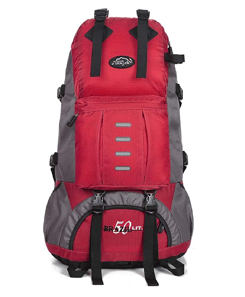 55L Outdoor Wanderrucksack Freizeitsport Outdoor Bag Bergsporttasche Sport