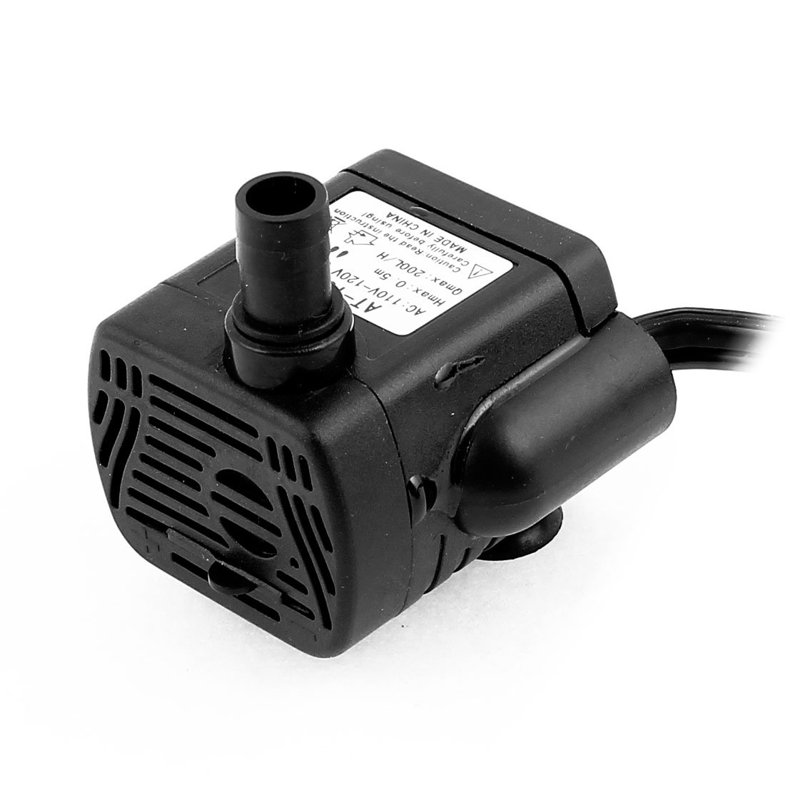 uxcell AC 110V-120V US Plug 3W Electric Mini Submersible Water Pump Aquarium Fountain