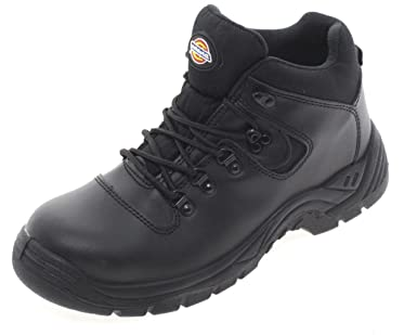 Dickies - Calzado de protección para mujer, color Negro, talla 44 EU