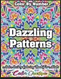 Color By Number Dazzling Patterns - Anti Anxiety