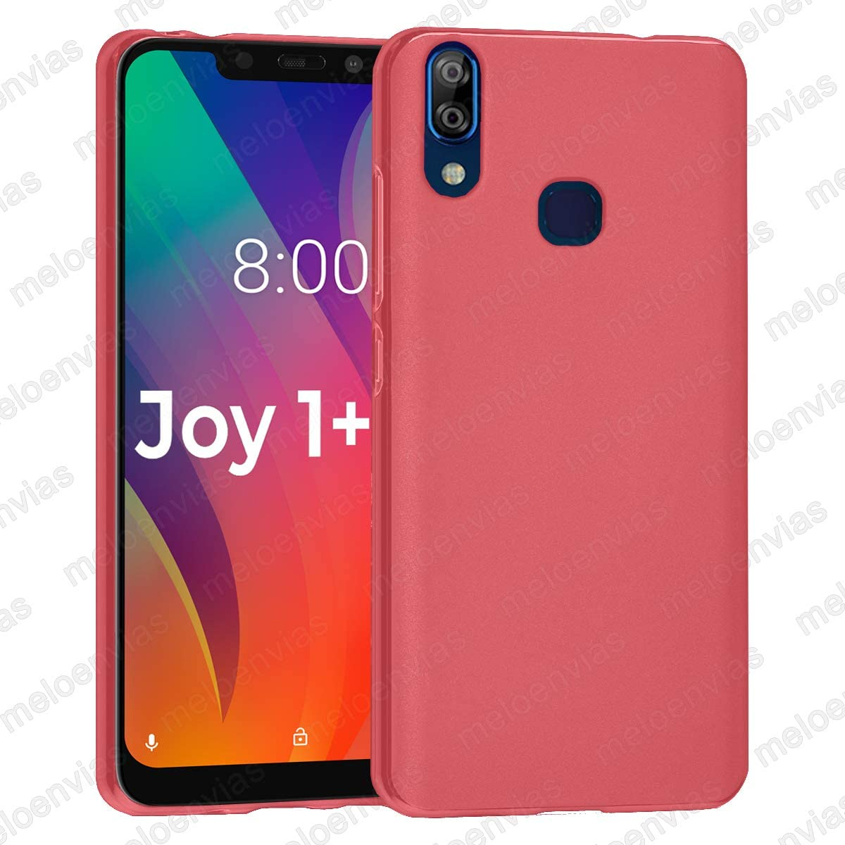 Funda para Vsmart Joy 1 + Plus Gel TPU Lisa Mate Color Rosa ...