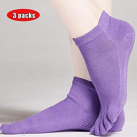 AND Calcetines de Cinco Dedos algodón para Mujer Desodorante ...