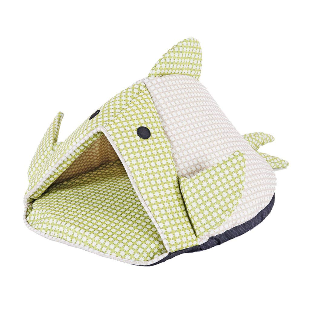 WANGXIAOLIN Pet Nest, Cat Sleeping Bag, Small Doghouse, Removable And Washable, Suitable For Bedroom, Living Room, Four Seasons