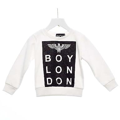 Boy London - Sudadera - para niño Bianco 3 años : Amazon.es: Ropa y accesorios