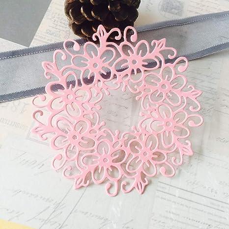 Wreath  metal paper die Cutting dies Scrapbooking DIY Educational toy Die Cut