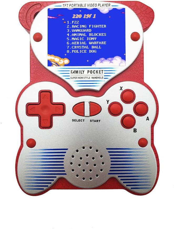 Goolsky Consola de Juegos Portátil Consola Retro con Juegos ...